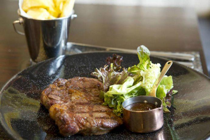Wagyu beef steak, Caxton Grill, Adam Handling