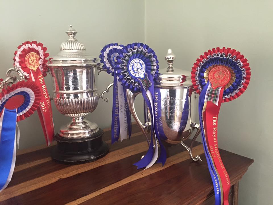 RHS silver trophies